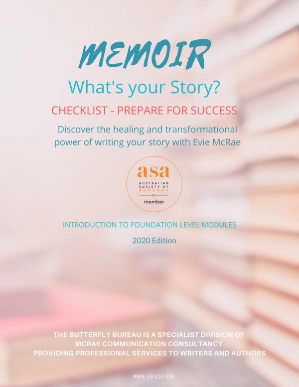 Memoir checklist